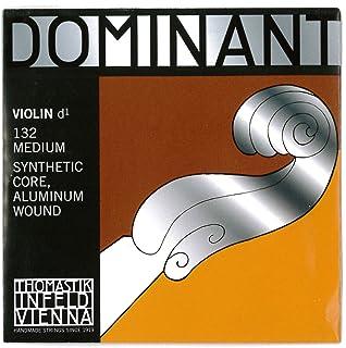 Dr Thomastik 132 Thomastik-Infeld 1324/4 Dominant Nylon Core Violin D-String, Medium Gauge, 4/4 Scale