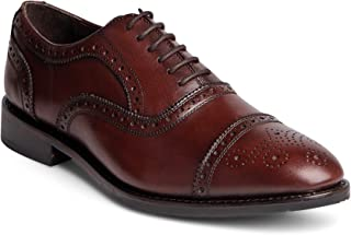 grain leather brogues