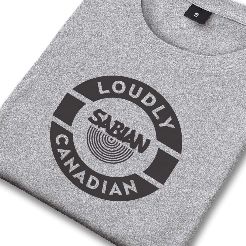 Cotton Short Sleeved Tshirts Heart Wolf Boys Sabian-Cymbals