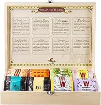 Wissotzky Tea Magic Tea Chest, Assorted Tea Gift Box Collection w/ 80 Assorted Teas