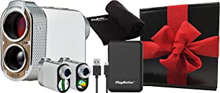 $629 » Voice Caddie SL2 Active Hybrid GPS Laser Rangefinder Gift Box Bundle | with PlayBetter Large Portable Charger and Microfib...