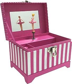 Musical Ballerina Jewelry Box - Pink