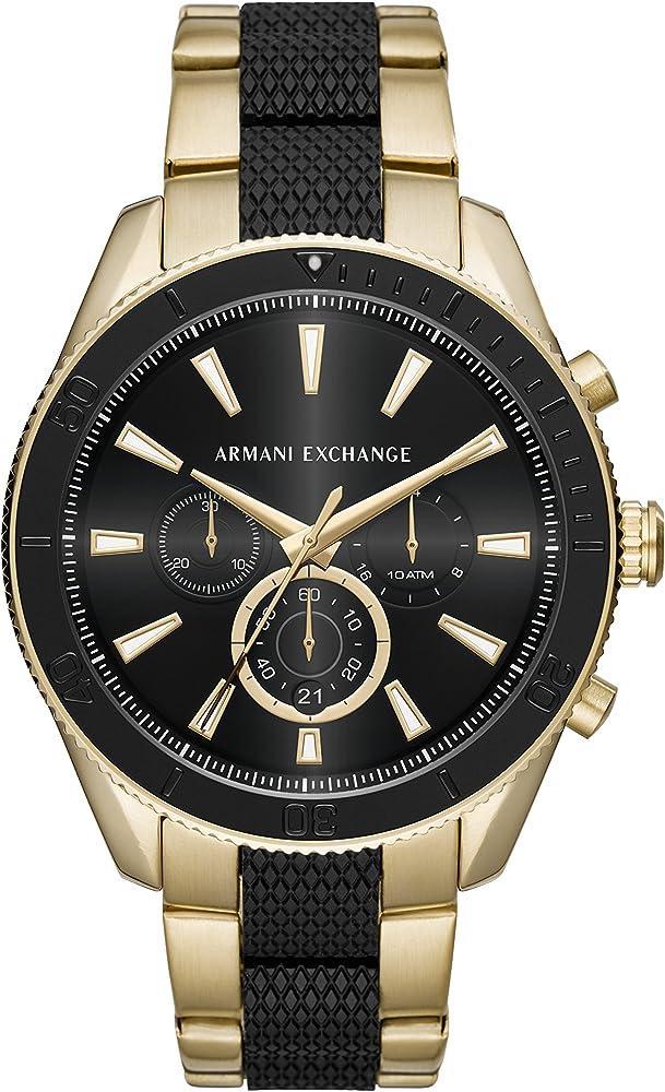 Armani exchange orologio cronografo uomo AX1814