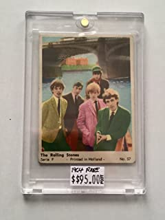 Rolling Stones Rare Holland Card 1964