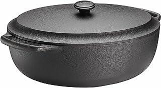 SKEPPSHULT - Tapa de Hierro Fundido (Hierro Fundido, 6 L), Color Negro