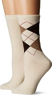 Women's Argyle Boot Sock 2 Pack