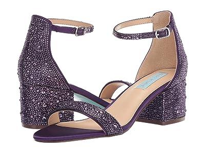 Blue by Betsey Johnson Mari Heeled Sandal (Purple) Women