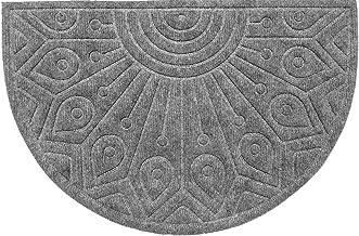 oKu-Tex Doormat, Polypropylene, Grey, 40 x 60 x 65 cm