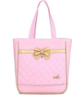 Waterproof Cute Backpacks for Preschool Toddler Girls Sweet Kids Large School Bookbag Travel Daypack (H-Pink)