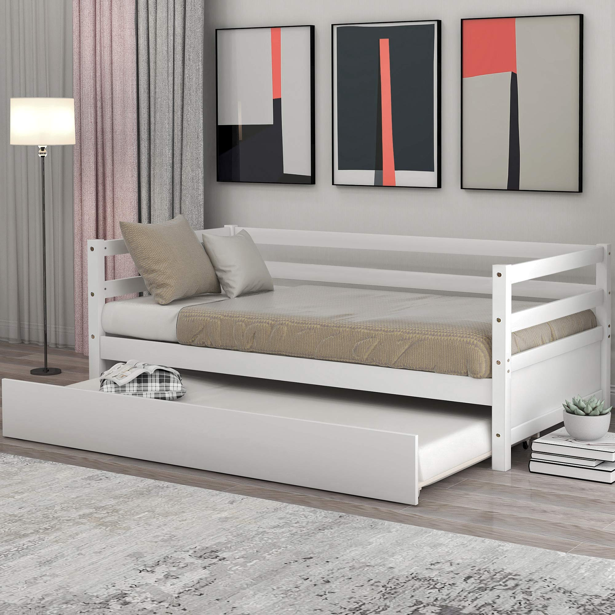 GLCHQ Guests Captains Daybed Trundle
