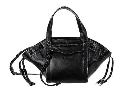 Rebecca Minkoff Mab Tote Crossbody (Black) Handbags