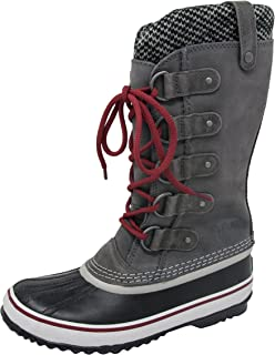 Women's Joan of Arctic Knit Boot, Quary Red/Dahlia, 7.5 M US