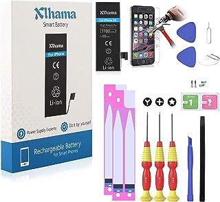 b4f41086eff Xlhama Batería Alta Capacidad Li-ion 1700mAh Compatible para iPhone 5S con  Juegos de Herramientas