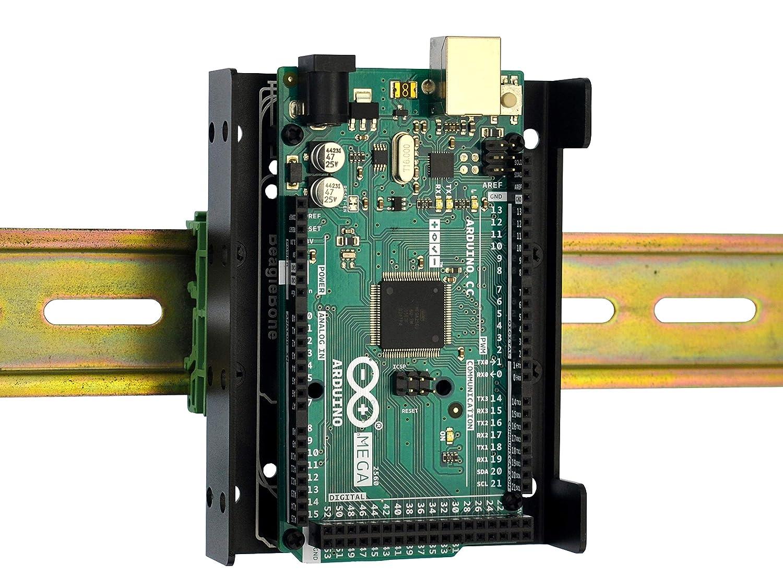 DIN Rail Mount Bracket for Raspberry Pi A+ 3B+ 4B 3B B+ Indefinitely Zero 2B 1 year warranty