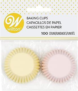 Wilton Pastel Cups for Food Decoration,Mini (100-Pack),Multicolor - 415-2123