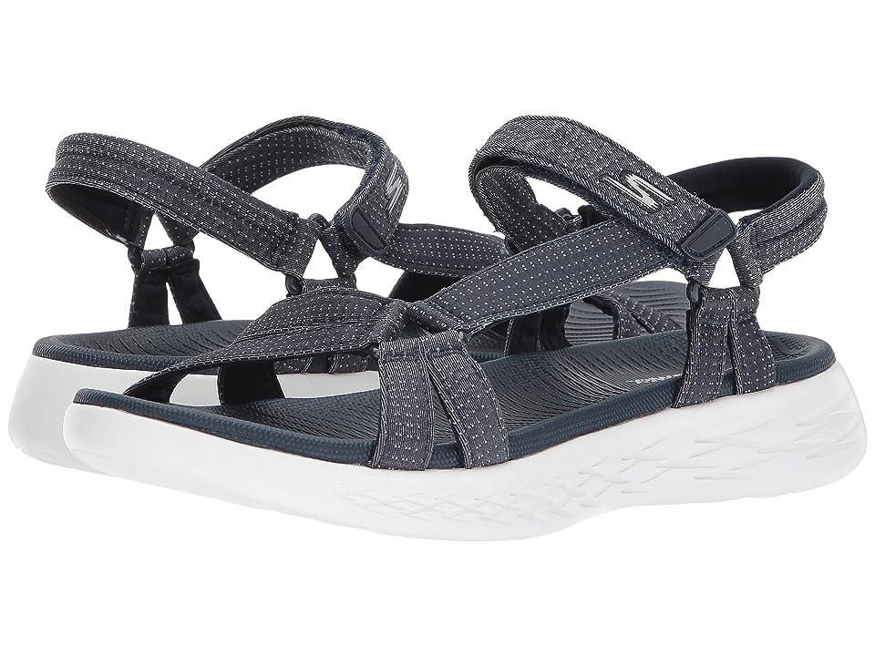 e558d7b701c SKECHERS Performance On-The-Go 600 Brilliancy (Navy) Women s Sandals