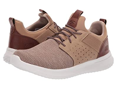 SKECHERS Classic Fit Delson Camben (Light Brown) Men