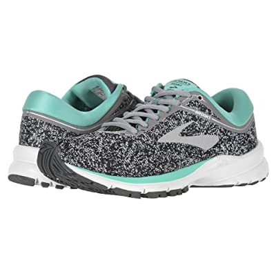 Brooks Launch 5 (Grey/Aqua Green/Ebony) Women