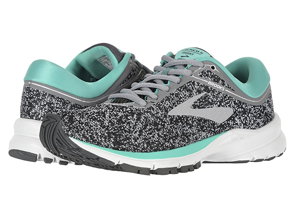 2d0fed51a6b Brooks Launch 5 (Grey Aqua Green Ebony) Women s Running Shoes