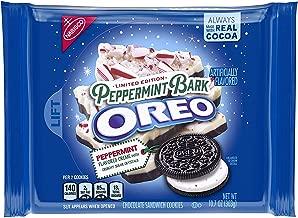 Oreo Seasonal Peppermint Bark Chocolate Sandwich Cookies (2 pack)