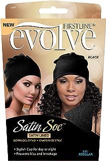Evolve Satin Soc Black