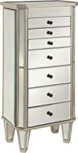 hayworth jewelry armoire silver