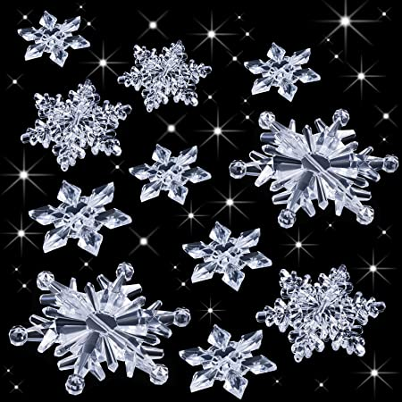 Details about  /Crystal Purple Large Snowflake Holiday Ornament Christmas Tree Decor Edition