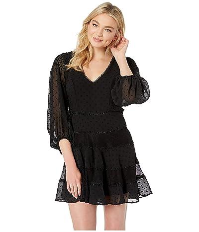Bardot Mae Lace Dress (Black) Women
