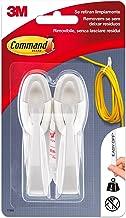 Command UU001566486 haken voor kabels, wit, 2 stuks