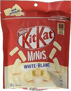 Nestle Kit Kat White Chocolatey Wafer Minis White Chocolate Minis Bites White Chocolate Bag Original Kit Kat Bites