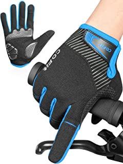 Touchscreen Cycling Gloves Full Finger Bike Bicycle Bmx Mtb Road Mitts Giant New