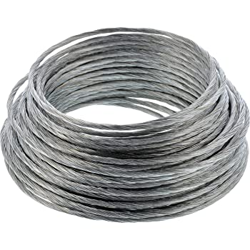 13 Metres Strong Steel Core for Picture HangingX Brass Picture Wire No