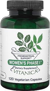 Sponsored Ad - Vitanica Women's Phase I, Premenstrual Support, Vegan, 120 Capsules