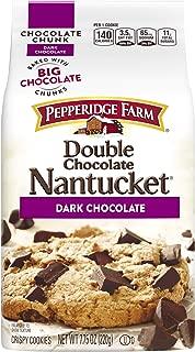 Pepperidge Farm Nantucket Crispy Double Chocolate Chunk Cookies, 7.75 oz
