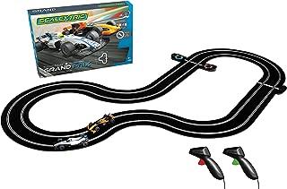 Scalextric Grand Prix Formula One Analog Slot Car Analog 1:32 Race Track Set C1385T