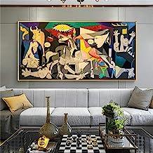 Guernica Door Picasso Canvas Schilderijen Reproducties Beroemde Canvas Wall Art Posters En Prints Pictures Home Muur Decor...