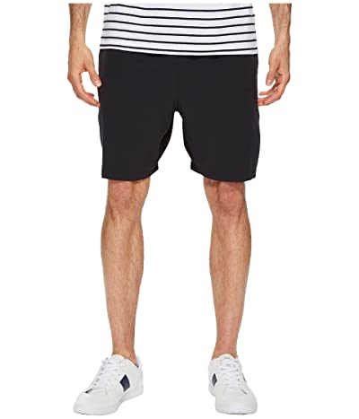 Lacoste Stretch Taffeta Shorts (Black) Men