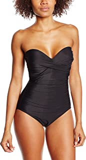 Miraclesuit 1 Piece Black Swimsuit Barcelona Must Haves Cup B to F