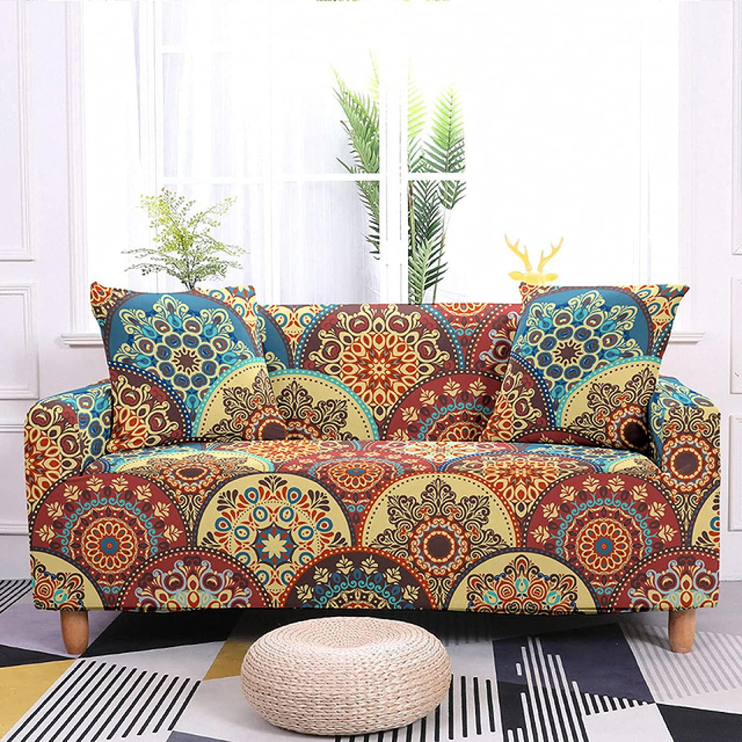 ZHOUMOLIN Sofa Large discharge sale Decor Elastic Cover Room Living Stretch for Clearance SALE! Limited time!