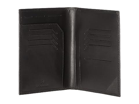 Cubierta Altius para Edge RFID negro pasaporte Victorinox Leibnitz con UFCwUqBr