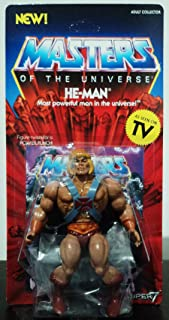Masters of The Universe He-Man Vintage 5 1/2-Inch Action Fig Standard