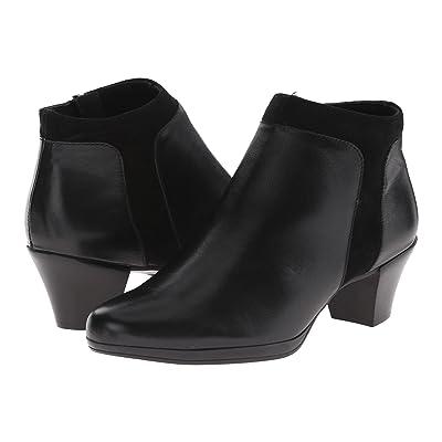 Munro Hope (Black Leather/Suede) High Heels