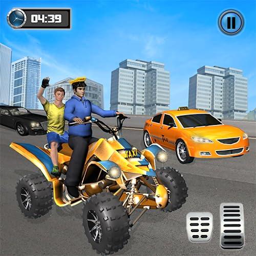 Taxi Cab ATV Quad Bike Limo City Taxi Driving Game