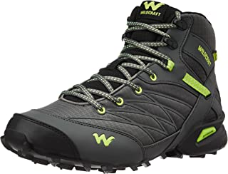 Wildcraft Men's Hugo Black and Green Trail Running Shoes - 9 UK/India (43 EU)