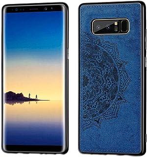 Grandcase Galaxy Note8 Case,Ultra thin PU Leather Soft Flexible TPU Bumper Anti-Slip Scratch Resistant Protective Cover fo...