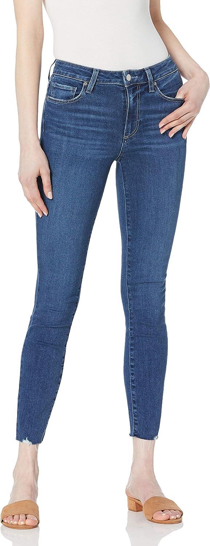 PAIGE Women's Hoxton Transcend Vintage Raw Hem Ankle Jean