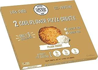 Cali'flour Foods Gluten Free, Low Carb Cauliflower Plain Pizza Crusts - 1 Box - (2 Total Crusts Per Box)