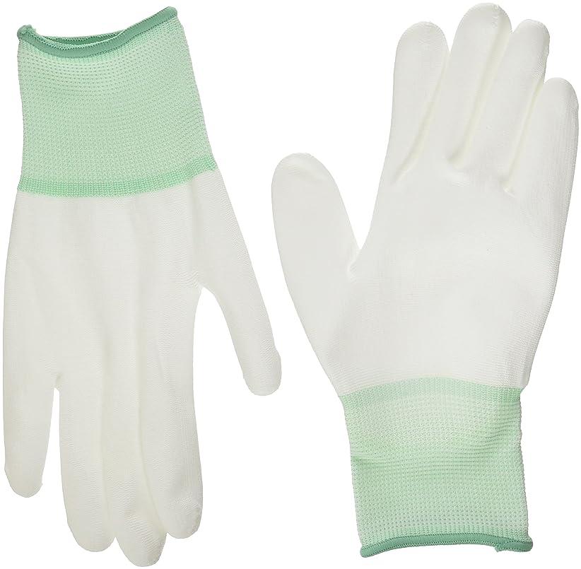 後悔心臓楽観的ミドリ安全 ポリエステル手袋 (手のひらコート)10双入 M NPU-130-M