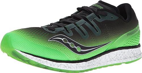 Saucony , Chaussures de course pour homme vert vert, 4 SLM BLK, 41 EU