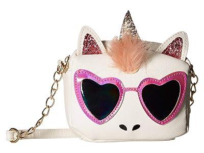 OMG! Accessories Cool Gwen Crossbody (White) Handbags